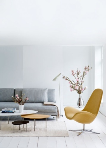 Sofa designed by Jens Juul Eilersen.