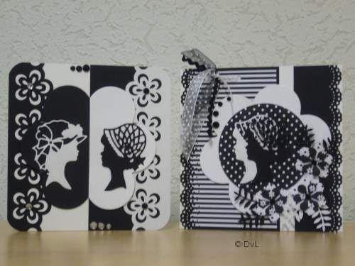 Zwart/wit kaarten