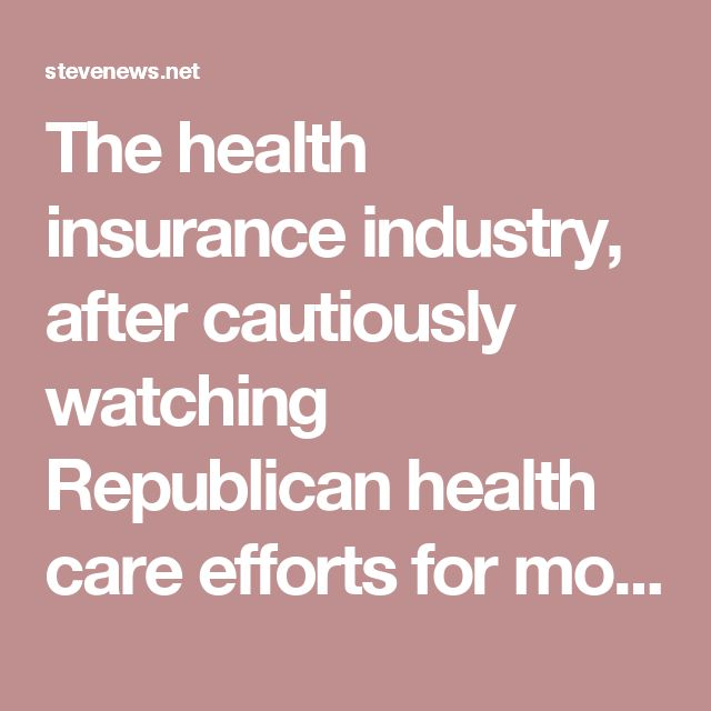 The health insurance industry, after cautiously watching Republican health care efforts for months, came out forcefully on Wednesday against the Senate's latest bill to repeal the Affordable Care Act, suggesting that its state-by-state block grants could create health care chaos in the short term and a Balkanized, uncertain insurance market. […]  The two major trade groups for insurers, the Blue Cross Blue Shield Association and America's Health Insurance Plans, announced their opposition on…