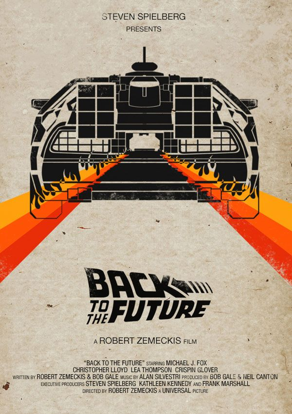 Cartazes alternativos do filme De Volta para o Futuro