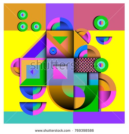 Trendy curvy geometric memphis elements colorful design. Retro 90's style texture, pattern and elements. Modern abstract culture background design and cover template.