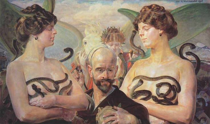Year 1905. Malczewski Яцек