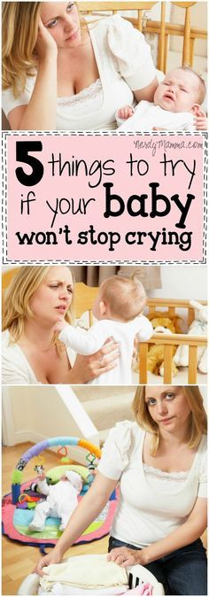 Man, I wish I'd known these 5 things to try if your baby won't stop crying YEARS…