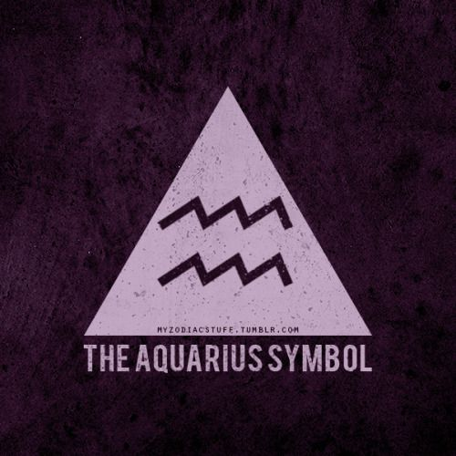 The Aquarian glyph—a pair of parallel wavy lines—is often mistaken for water. That is not the case. Those lines are serpents, symbols of knowledge. #Aquarius