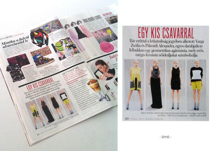 Instyle Magazin 2015.Jan.