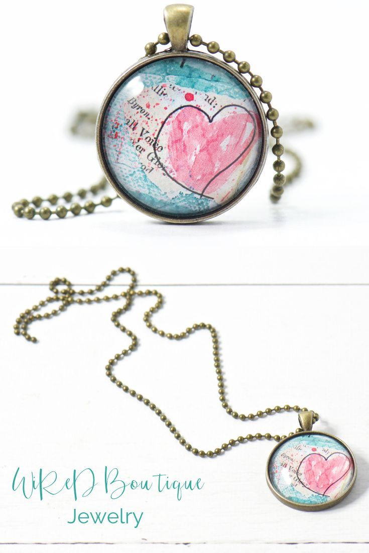 120aa6de6 Give her a gift of love this Valentine's Day with this bloomin' heart pendant  necklace. #valentinesdaygift #giftidea #pendantnecklace