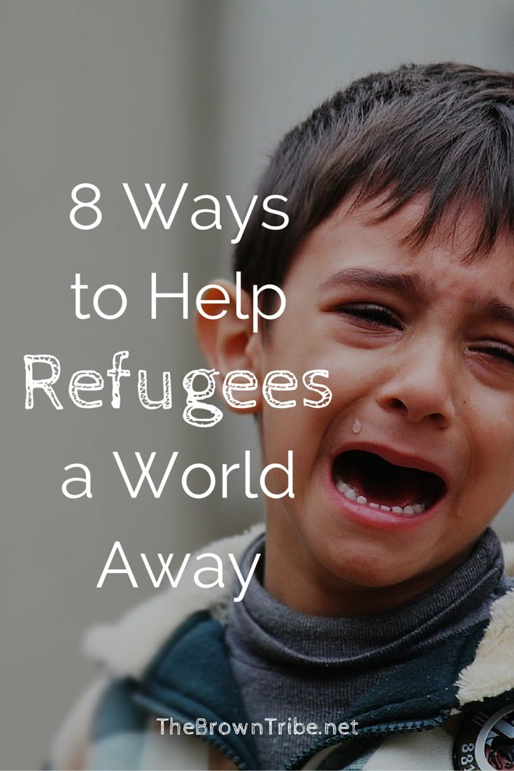 Everyone's heard about the refugees but how can we help them? From across the world, what can we do? Here are 8 suggestions for you to take action!