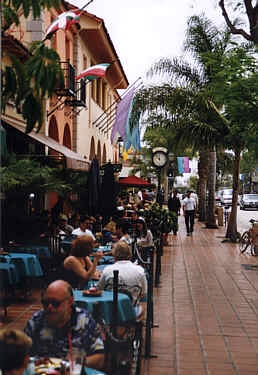 State Street Santa Barbara offers tons of great dining options!