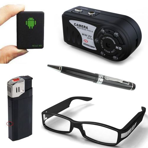 Découvrez un grand choix de produits d'espionnage et de surveillance pour professionnels comme pour les amateurs : de la paire de lunettes espion au stylo camera en passant par le traceur GPS ! http://www.yonis-shop.com/23-camera-espion-surveillance