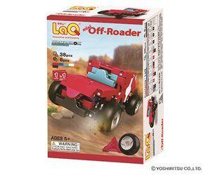 LaQ Hamacron Constructor Mini Off-Roader- Terrängbil - Bygg en liten terrängbil av totalt 46 byggbitar, en beskrivning medföljer. LaQ är roligt och kreativt. Tränar finmotoriken och förmågan att läsa och följa en beskrivning. Från 5 år.