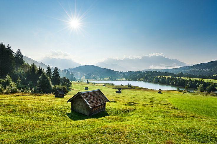 Lake Gerold and the Karwendel