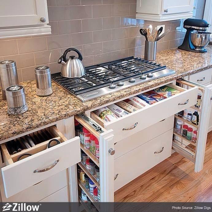 Practically perfect kitchen organization!