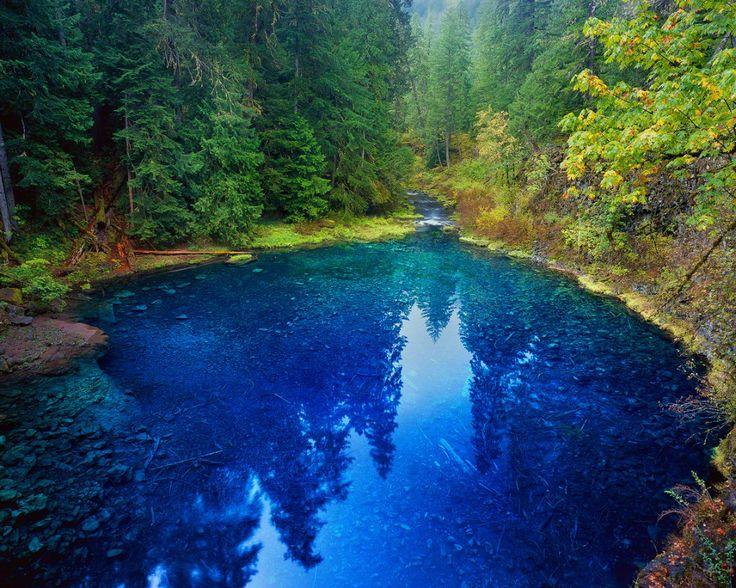 """Tamolitch Pool"", AKA, the Blue Pool, McKenzie River"