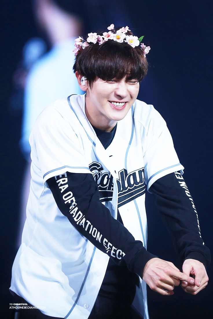 Chanyeol - 161126 Exoplanet #3 - The EXO'rDium in Taipei Credit: AtmosphereChan. Look at his cute face