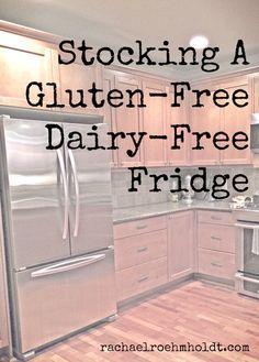 Stocking A Gluten-Free Dairy-Free Fridge | RachaelRoehmholdt.com – More at http://www.GlobeTransformer.org