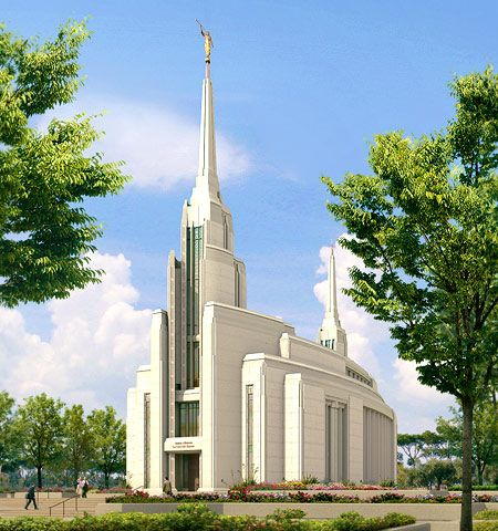 Rome Italy Temple of The Church of Jesus Christ of Latter-day Saints. #LDS #Mormon