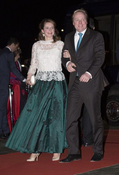 Prince Carlos de Bourbon de Parme and Princess Annemarie attend a celebration of the reign of Princess Beatrix on 01.02.14 in Rotterdam, Netherlands.