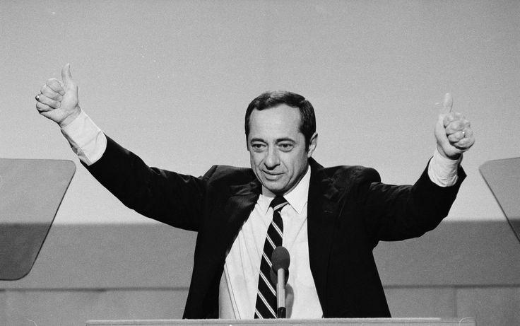 Mario Cuomo, N.Y. governor, spoke loudly for liberal ideals