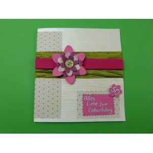 Wunderschöne Geburtstagskarten selber basteln   Die ...