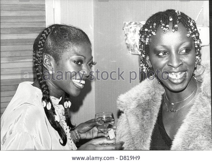 Singer And Actress Patti Boulaye With Madeline Stock Photo