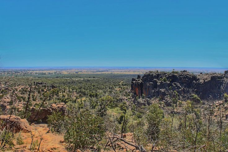"""Camping in the Grampians National Park -- Hollow Mountain - http://lostboymemoirs.com/camping-in-the-grampians-national-park/ """"It leaves you breathless"""". - Lost Boy Memoirs 