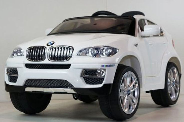 Ride-On Kids Car BMW X6 Battery Powered Operated Electric Children Toy White #Huffy