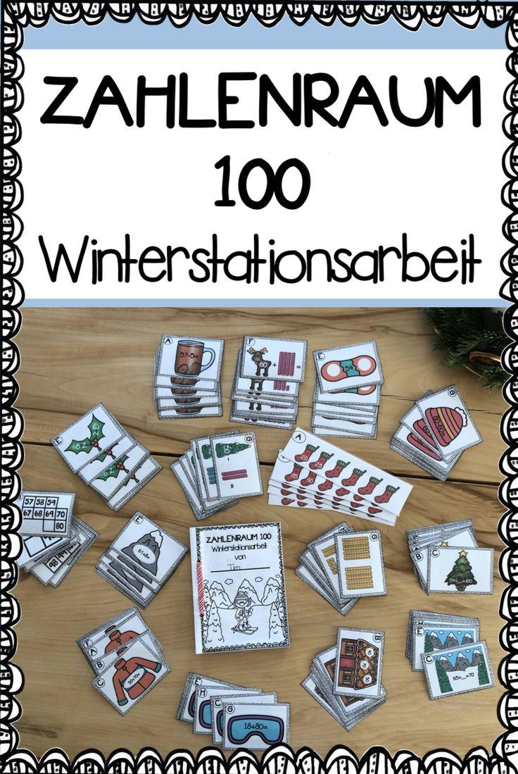 Winter – Stationen im Zahlenraum 100 – Kristina Diener