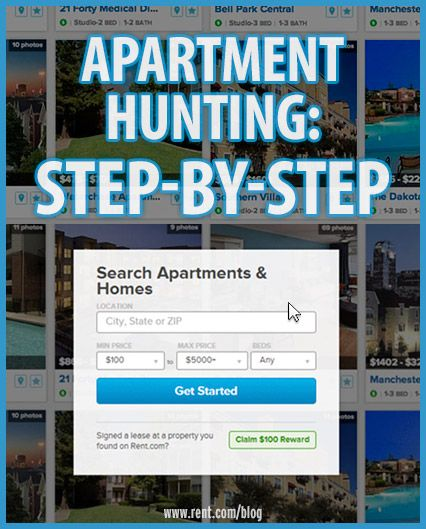 Apartment hunting can be a long and involved process if you don't know what you should be looking for. Use this renter checklist to find the right apartment for you. [Rent.com Blog] #rent #renting #apartment