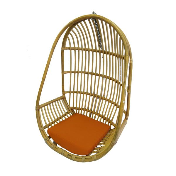 Hanging chair - natural rattan