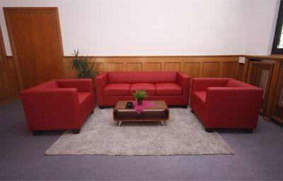 heute-wohnen 3-1-1 Sofagarnitur Couchgarnitur Loungesofa Lille, Leder Jetzt bestellen unter: https://moebel.ladendirekt.de/wohnzimmer/sofas/garnituren/?uid=d0b7ee8d-f3f6-59d0-9734-a0a78e0497f2&utm_source=pinterest&utm_medium=pin&utm_campaign=boards #garnituren #sofas #wohnzimmer