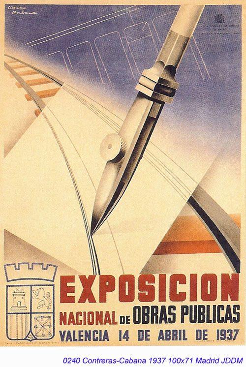 Cabana, Exposicion nacional de obras publicas Valencia, 1937