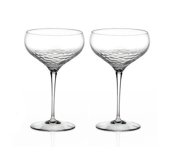 The 25 best wedding champagne saucers ideas on pinterest vintage champagne glasses coupe - Vera wang martini glasses ...