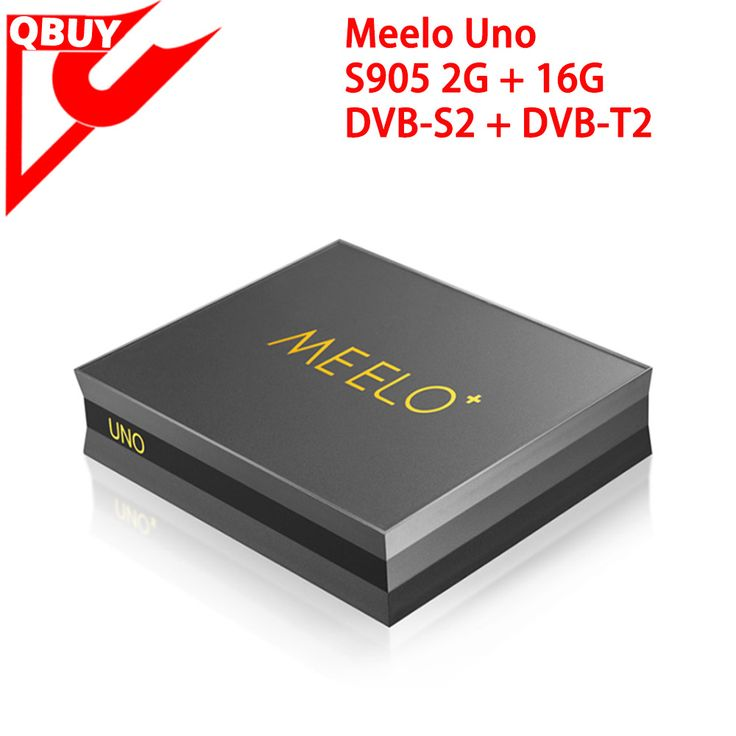 Newest Meelo+ uno DVB-T2 DVB-S2 Android 5.1 TV Box 2GB/16GB Amlogic S905 Quad-core 2.4G&5G wifi android 5.1 meelo uno www.qbuytech.en.alibaba.com
