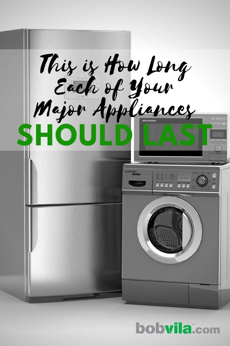 This Is How Long Each Of Your Major Appliances Should Last