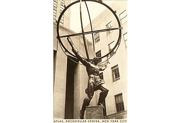 Atlas Statue, Rockefeller Center, NYC on OneKingsLane.com
