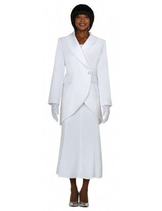GMI group Usher Suits G2876 White