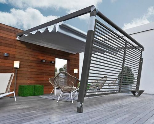 Pergotenda Awning by Corradi - Move #WindowsWest #OutdoorDesign