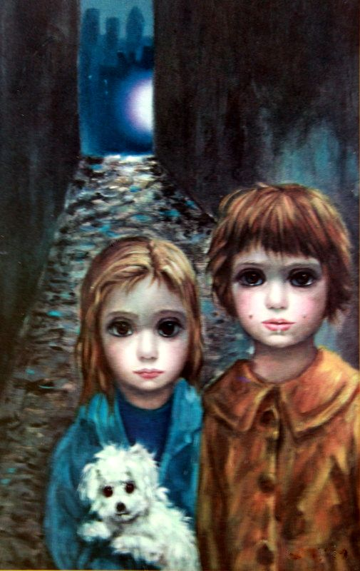 """""""Lost"""" - Margaret Keane this is the piece is the second one I want to add to my one print collection"""