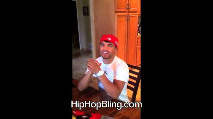 #Boxing legend Victor Ortiz Sporting His #HipHopBling Custom G Shock #Watch. #jewelry