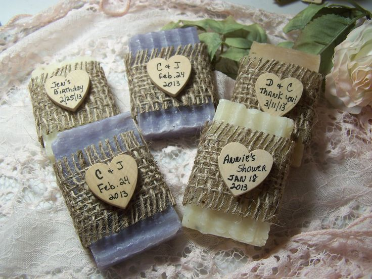 Bridal Shower Favors Soaps Mini By CountryChicSoaps
