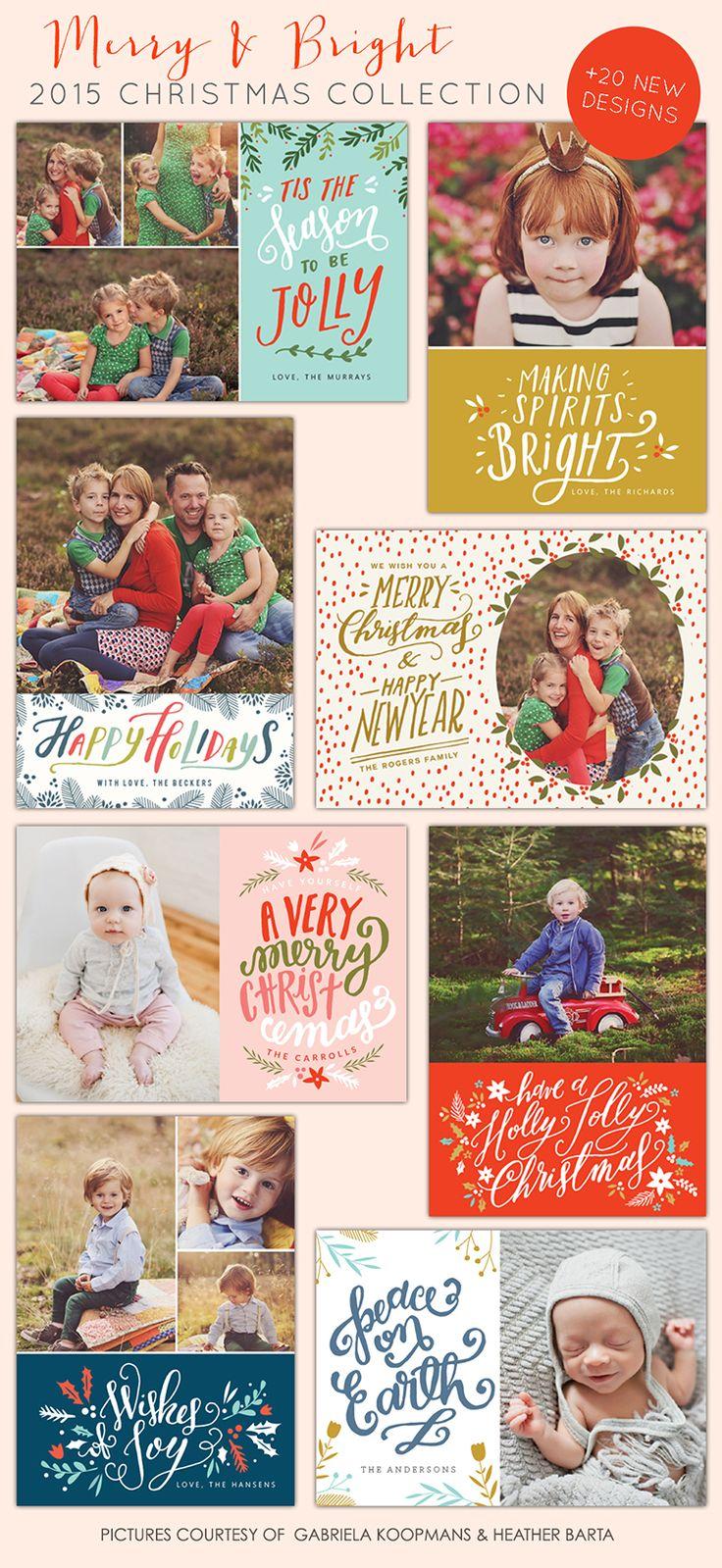 Christmas cards photoshop templates