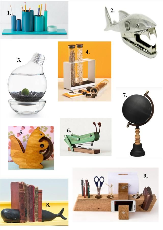 Fun Office Supplies For Desk  Hostgarcia