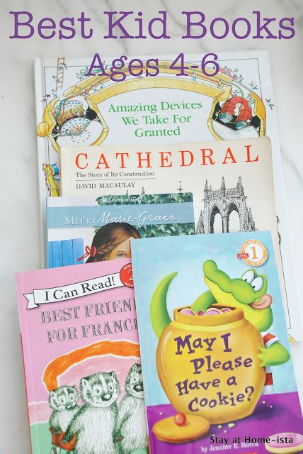 The best kid books for 4-6 year olds