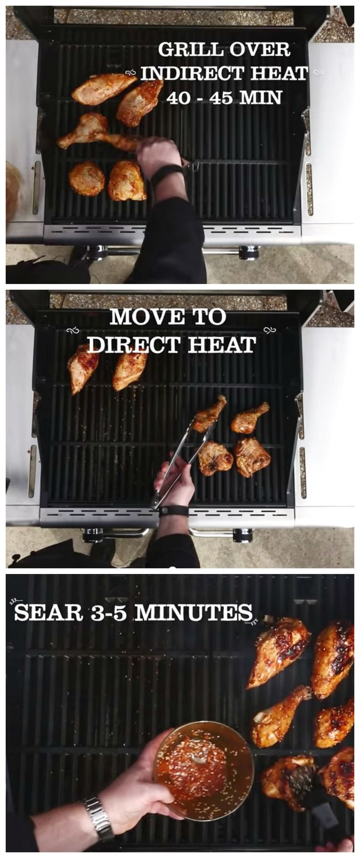 Sick of dry chicken? Try the  reverse sear cooking method! Cook low and slow for…