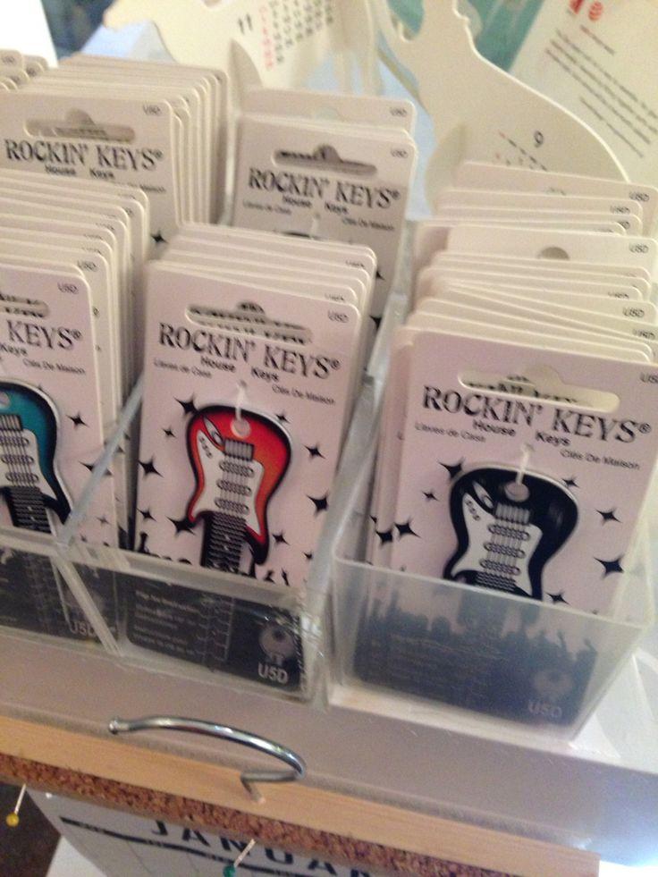 Rocking Keys - Schlüsselrohling
