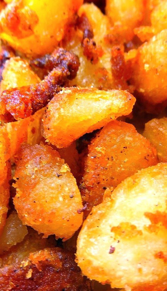English Roast Potatoes - National Tater Day