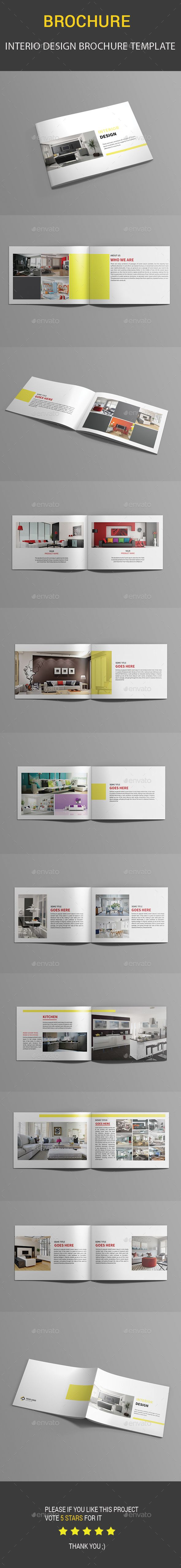 template for brochures