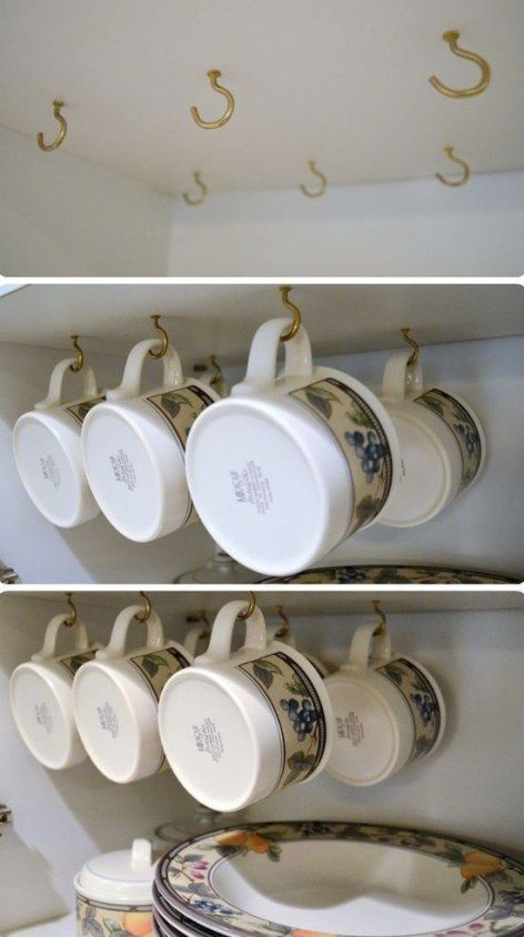 23 Shockingly Easy DIY Kitchen Organization Ideas You Need To Try Today