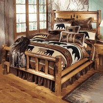 Yosemite Log Bedroom Furniture