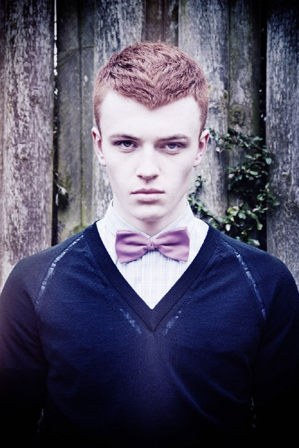 Jake Shortall| Client Men's Style Guide April/May 2012 - i'm really digging bow ties right now.
